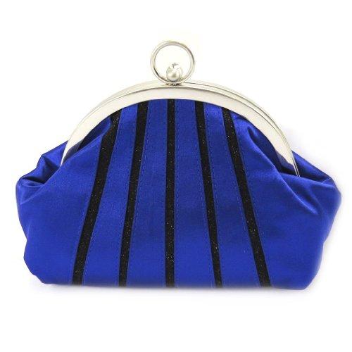 Les Trésors De Lily [L3597 - Sac Bourse 'Nina' bleu