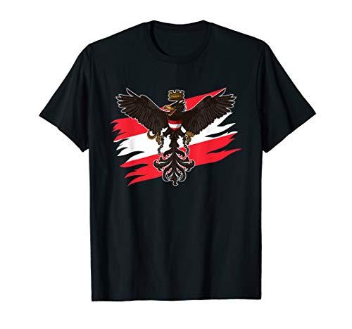 Bundesadler Österreich - Österreichische Flagge - Patriot T-Shirt