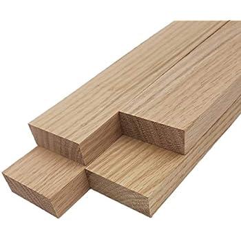"""Red Oak Lumber Board - 3/4"""" x 2"""" (4 Pcs) (3/4"""" x 2"""" x 48"""")"""