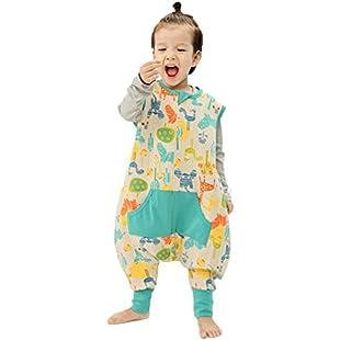 Customer reviews LINAG Newborn Sleeping Bag Pajamas Breathable Bodysuit Sack Swaddle Baby Climbing Anti-kick Legs Spring Cotton Swaddle Robes Split Leg Romper Blanket Toddler Cute Breathable Robes Romper Clothes , d , XL:Comoparardefumar