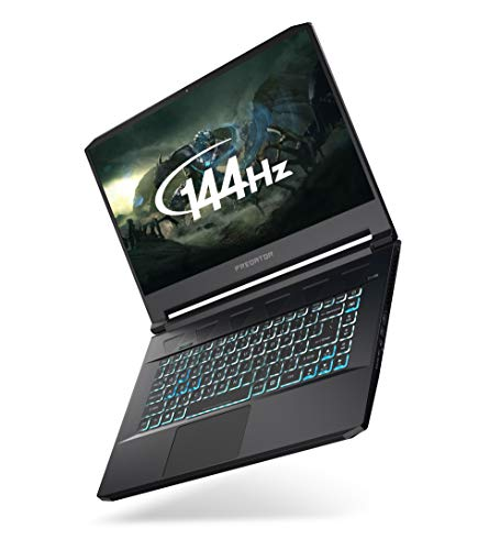 Acer Predator Triton 500 PT515-51 15.6-inch Gaming Laptop - (Intel Core i7-9750H, 16GB RAM, 2 x 512GB SSD in RAID, Nvidia GeForce RTX 2070 Max-Q, Full HD 144Hz Display, Windows 10, Black)