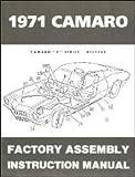 1971 Camaro Factory Assembly Manual 71 (with Bonus Decal)