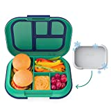 Bentgo Kids Chill Lunch Box - Bento-Style Lunch Solution with 4 Compartments and Removable...