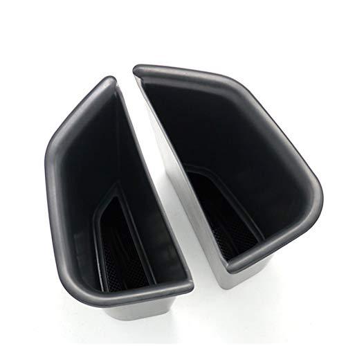 MeiZi Ajuste para Alfa Romeo Giulia Caja de Almacenamiento Interior Centro Central CONTENEDOR DE PUERTAMIENTO Puerta DE PUERTURA Accesorios DE Consola DE LA Tapa (Color Name : Door Storage Box)