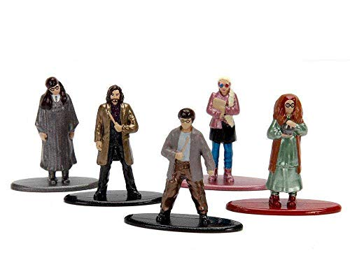 Jada- Nano MetalsFig Pack 5 Figuras Harry Potter, Multicolor (JADA99439)
