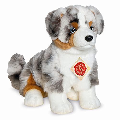 Teddy Hermann 91933 Hund Australian Shepherd 30 cm, Kuscheltier, Plüschtier