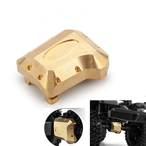 Heavy Duty Brass Axle Differential Cover for RC 1/10 Traxxas TRX-4 Crawler