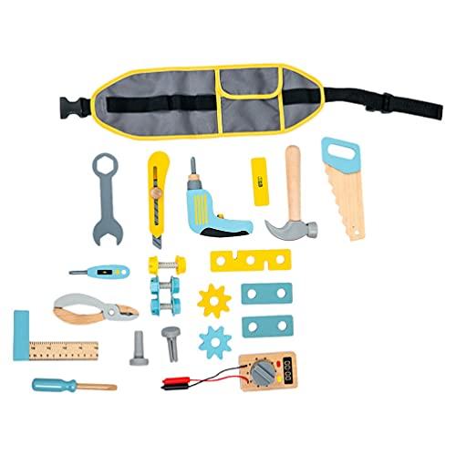 Kisangel Reparatur Lernen Kinder Werkzeug Set BAU Spielzeug Arbeits Werkzeuge Pädagogisches Spielzeug Pretend Rolle Spielen Werkzeug Engineering Wartung Werkzeug Spielzeug