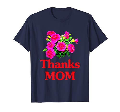 母の日 カーネーション ありがとう Mother's Day Carnation Thanks MOM Tシャツ