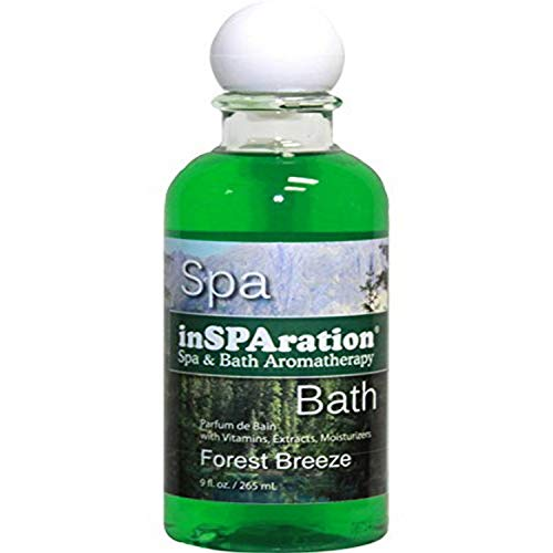 inSPAration Spa and Bath Aromatherapy 115X Spa Liquid, 9-Ounce, Forest Breeze