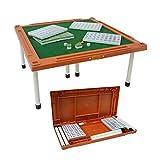ZOUJUN Portable Mini Mahjong Table