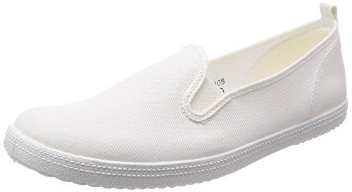 [アサヒ] 上履き 室内履き 保育士 L01K レディース ホワイト 24 cm 2E