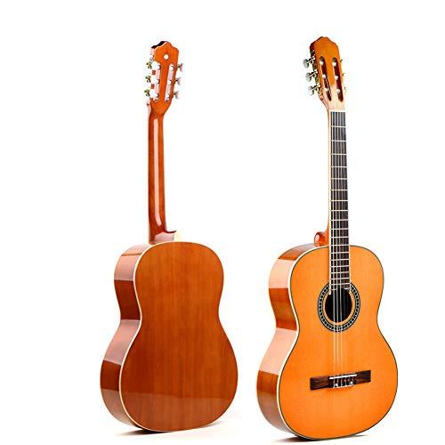 NAXIAOTIAO 39 Pulgadas De Guitarra Popular, Guitarra Luz Madera Contrachapada, La Guitarra Acústica del Instrumento Musical,2