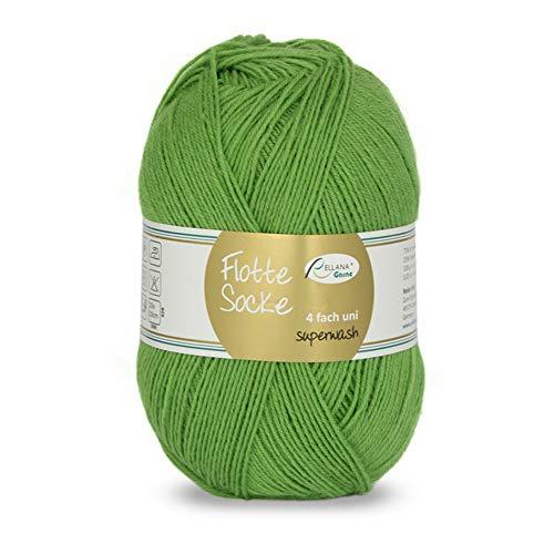 Rellana Flotte Socke 4-fach uni Sockenwolle 100g Farbe 932
