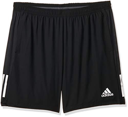 adidas Own The Run SHO Shorts (1/2), Hombre, Black, M 5'