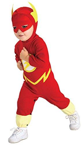 Rubie s IT881369-L - Flash Deluxe Costume, con Muscoli, Taglia L
