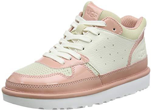 UGG Chaussures de Sport Highland pour Femme - - Sel de mer Blanc La Sunset, 39 EU