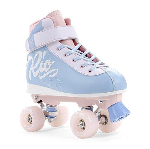 Rio Roller Milkshake Rollschuhe Unisex Kinder 34 Rosa (Cotton Candy)