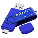 leizhan 64GB USB C Flash Drive for Android Phone,USB...