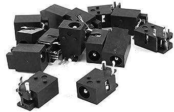 15 Pcs 4.0mmx1.7mm de alimentación de CC portuaria de carga de la placa base de conector Jack