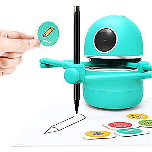 MTSBW Robot De Herramienta De Pintura, Adecuado para Niños, Niñas, Robot De Pintura para Niños De Bricolaje, Maestro De Pintura para El Hogar para Niños, Adecuado como Regalo