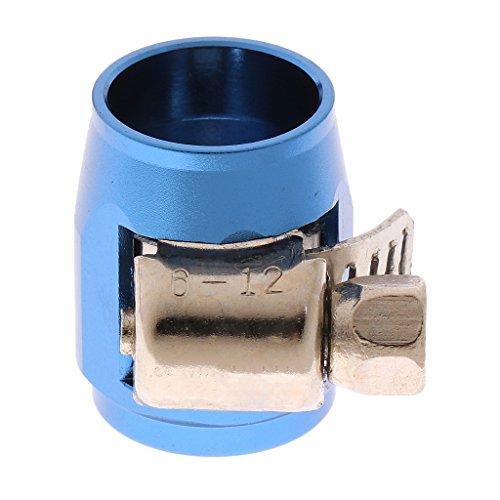 Sharplace Pince de Serrage pour Tuyau d'huile Pièce Remplacement AN4 Voiture, Aluminium - Bleu