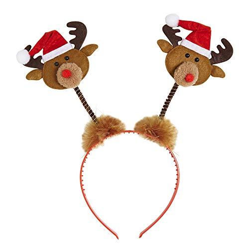 Rentier Haarreifen für Weihnachten