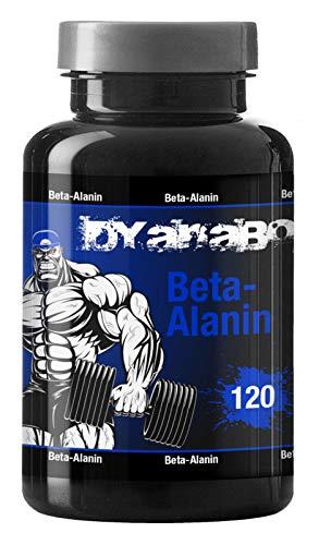 Dyanabol Beta Alanin 120 Cápsulas Pre Workout Booster para el crecimiento muscular