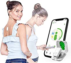 Upright GO 2 Posture Trainer and Corrector for Back Strapless, Discreet and Easy to Use Complete with App and Training Plan Back Health Benefits and Confidence Builder