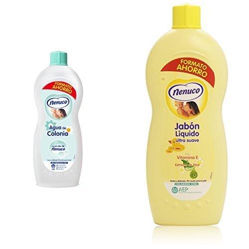 Nenuco Pack con Agua de Colonia + Jabón líquido con Vitamina E