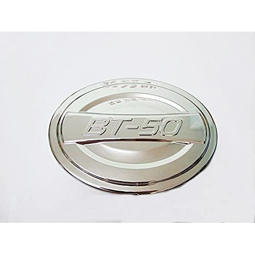 Chrome Fuel Oil Cap Tank Trim Cover for New Mazda Bt-50 Bt50 Pro 2012