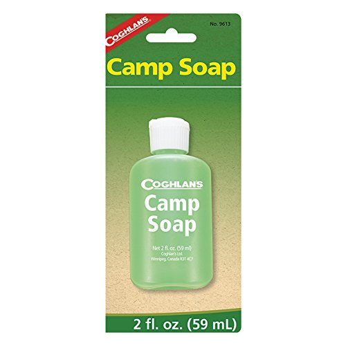 Coghlans Camping-Seife, Herren, Camp Soap - 2 oz, grün, 2 oz