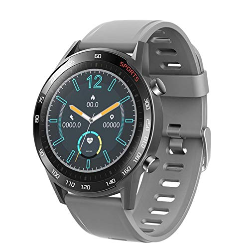 ZYDZ T23 Blutooth Smart Watch Fitness Tracker Monitor De Ritmo Cardíaco Monitor Smartwatch Men's Women's Sports Pulsera De Fitness para Android iOS,B