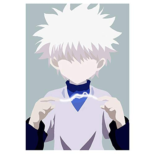 Fuguan Hunter X Hunter Poster, Paper Painting Poster for Home Wall Decor for Anime Fans 16.5'x11.8'(Multi 7)