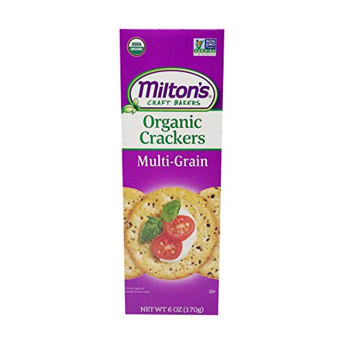 MILTONS CRAFT BAKERS Organic Multigrain Crackers, 6 OZ