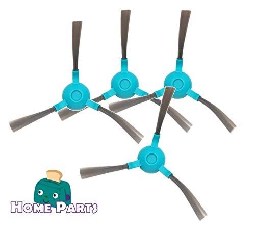 Home Parts Cecotec Conga Cepillo de Recambio para Modelo 1290/1390 (Set de 4 cepillos)