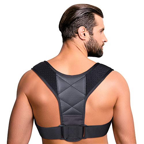 Yougreast Posture Corrector for Women & Men, Relieves Upper Back & Shoulders Pain, Corrects Slouching, Hunching & Bad Posture, Clavicle Support