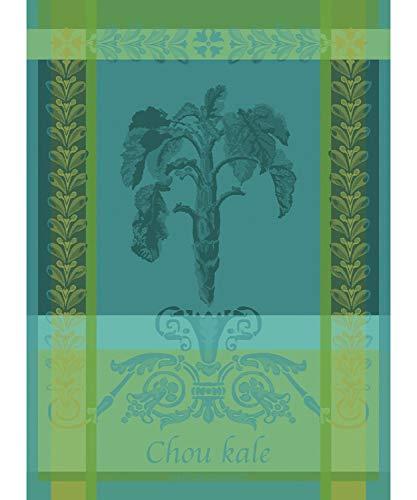 Garnier Thiebaut - Geschirrtuch - Küchentuch -Trockentuch - Chou Kale Bleu - Baumwollle - 56 x 77 cm