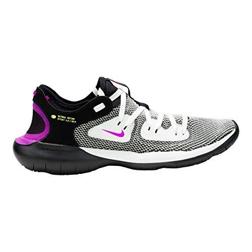 Nike Men's Flex RN 2019 Running Shoes Black/Volt Glow/Summit White 11