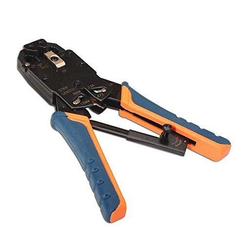 Herramienta crimpadora para RJ10-RJ11-RJ12-RJ45, Cablepelado®
