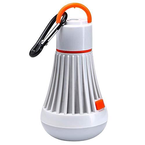 Hochwertige LED Campinglampe 3 Licht Farben 4 Modi, Tragbare Zeltlampe für Camping