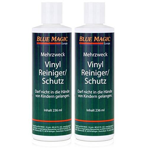 Blue Magic Mehrzweck Vinyl-Reiniger/Schutz 236ml Flasche (2er Pack)