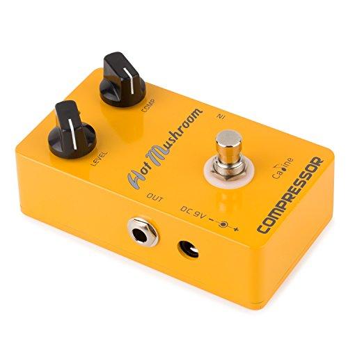 Caline USA CP-10 Hot Mushroom Compressor Guitar Effect