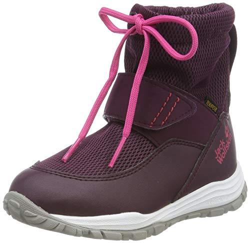 Jack Wolfskin Unisex Kinder Kiwi WT Texapore MID K Wasserdicht Bootsschuh, Purple/Pink, 31 EU