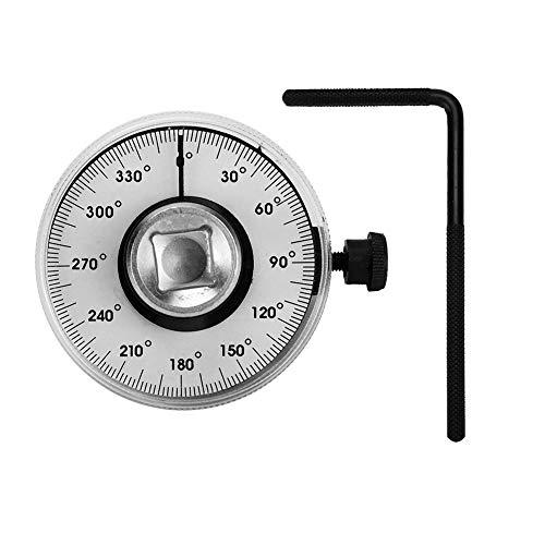 Auto Drehmoment Winkelmesser, Stahl Einstellbare Antriebsmoment Winkel Messschlüssel Car Measure Garage Tool Set
