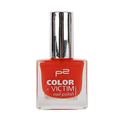 P2 Color Victim Nail Polish Nr. 629 running hot Farbe: Rot Inhalt: 8ml - Nagellack für tolle Nägel.