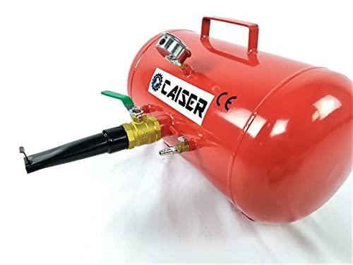 CAISER Calderín XL talonador de neumáticos de 40 litros / 10.5 galones