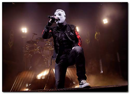 Wall decor Corey Taylor Poster (13 x 19 Inches) | Ready to Frame for Office, Living Room, Dorm, Kids Room, Bedroom, Studio | Slipknot | Stone Sour