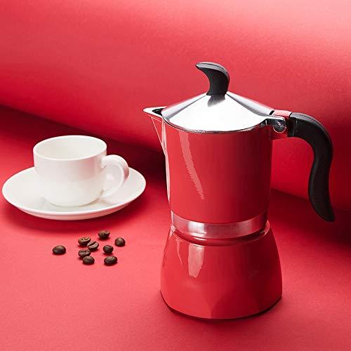 Review Moka Pot Hand-Made Coffee Machine Mocha Espresso Coffee Pot Household Coffee Utensils Easy to...