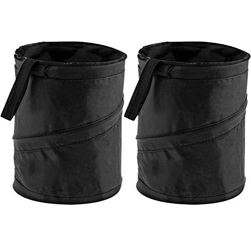 Car Trash Can Auto Garbage Bin Collapsible Pop Up Trash Garbage Bag for Car Small Portable Vehicle Trashcan